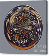 Monarch Butterfly Abstract Canvas Print