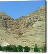 Monastary On The 40-day Mountain Canvas Print
