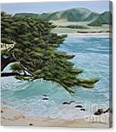 Monastery Beach Canvas Print