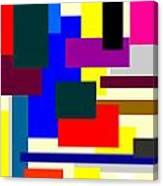 Mondrian Composition Canvas Print