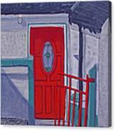 Monedarragh Back Door And Gate Canvas Print