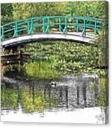 Monet Bridge Canvas Print