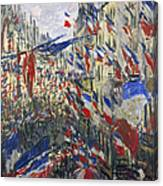 Monet: Montorgeuil, 1878 Canvas Print