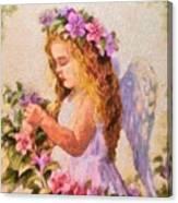 Monet Silked Angel Canvas Print
