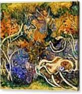 Monet Under Water Canvas Print
