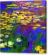 Monet Would Be Horrified Canvas Print