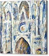 Monet's Cathedral Canvas Print