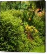 Monet's Garden Dreamscape Canvas Print