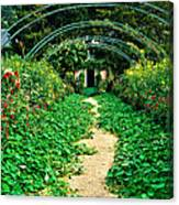 Monet's Gardens At Giverny Canvas Print