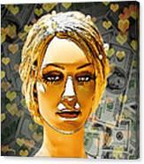 Money Love Canvas Print