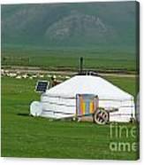 Mongolian Living Canvas Print