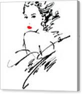 Monique Variant 1 Canvas Print