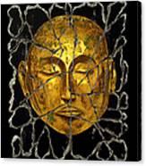 Monk In Meditation Canvas Print
