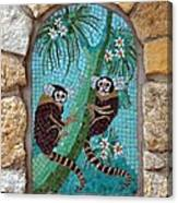 Monkey's Mosiac 02 Canvas Print