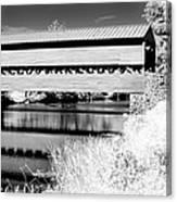 Mono Bridge Canvas Print