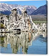 Mono Lake And Sierra Mtns Canvas Print