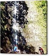 Monoa Waterfall  Canvas Print