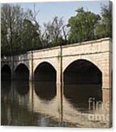 Monocacy Aqueduct On The C And O Canal In Maryland Canvas Print