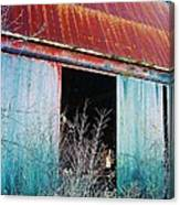 Monroe Co. Michigan Barn Canvas Print