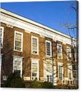 Monroe Hall University Of Virginia Canvas Print