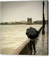 Monsoon In Mumbai Canvas Print