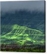 Monsoon Over Mountains Canvas Print