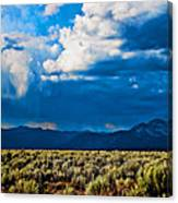 Monsoons In July Canvas Print