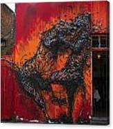 Monster Brawl Canvas Print