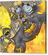 Monsters Vs Aliens Canvas Print