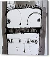 Monstra No. 1 Canvas Print