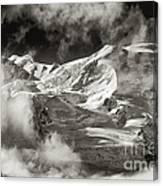 Mont Blanc Group Canvas Print