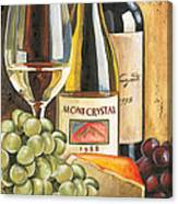 Mont Crystal 1988 Canvas Print