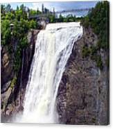 Mont Morency Falls Canvas Print