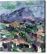 Montagne Sainte-victoire Canvas Print