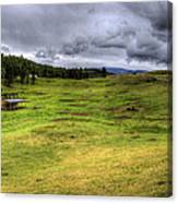 Montana Breeding Ground Canvas Print