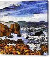 Montana Da Oro San Luis Obispo State Park Canvas Print