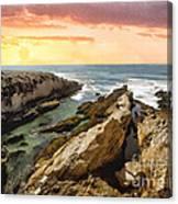Montana De Oro Shore II Canvas Print