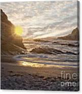 Montana De Oro Sunset II Canvas Print