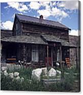 Montana Home 2 Canvas Print