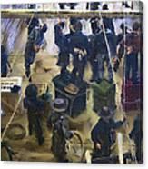 Montana Justice   January 14 1864 Canvas Print