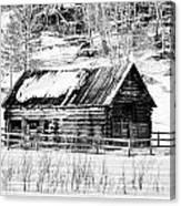 Montana Mountain View Canvas Print