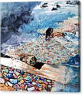 Montana Rocks Canvas Print