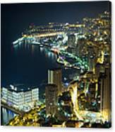 Monte Carlo By Night  Canvas Print