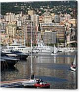 Monte Carlo Sailing - Monaco French Riviera Canvas Print