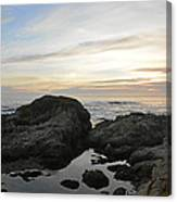 Monterey Bay Coast Canvas Print