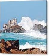 Monterey Bay Waves Canvas Print