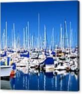 Monterey Bay Yacht Club 19704 Canvas Print