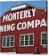 Monterey Cannery Row California 5d25039 Canvas Print
