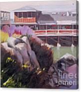 Monterey Fisherman's Wharf Canvas Print