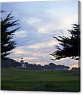 Monterey Golf Course Canvas Print